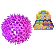 Light Up Spikey Ball 7.5cm (TY2718)