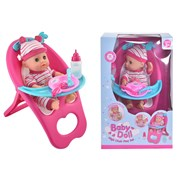 30cm Baby Doll Highchair Play Set (TY4314)