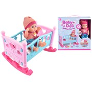 30cm Baby Doll Bedtime Play Set (TY4316)