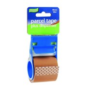 Ultratape Brown Parcel Tape & Dispenser 48mm x 20m (RT0808-48X20)