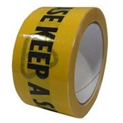 Ultratape Keep A Safe Distance 48mm Black & Yellow Tape 33m (PT50X33BYSD-UL)