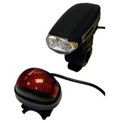 Uni-com Rechargeable Bicycle Lights (57178)