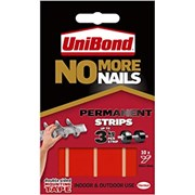 Unibond No More Nails Permanent Strips Ultra Strong (1507605)