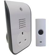 Uni-com Plug Through Door Chime (62202)