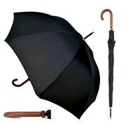 Mens Walking Umbrella With Wooden Handle (UU0101)