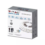 V-tac Ip65 Rgb Tape Light 5m (VTRGBSTRIPKIT-IP65)
