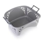 Minky Laundry Basket Light Grey (VB10010003)