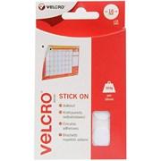 Velcro® Brand Velcro Hook & Loop Stick On Coins White (EC60227)