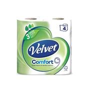 Velvet Comfort Toilet Roll 4roll (10118)