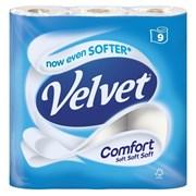 Velvet Comfort White 9pk (10083)