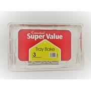 X/value 3 Tray Bakes 320x210x33mm (VFTRBK3)