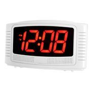 Vian Led Mains Alarm Clock (14722)