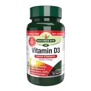 Natures Aid Vitamin D3 4000iu + 33% 80s (150125)
