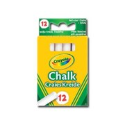 Crayola Anti Dust Chalk White 12s (01.0280.10)