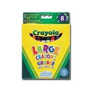 Crayola 8 Ultra Clean Large Crayons (52-3282-E-000)