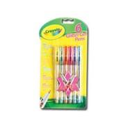 Crayola 6 Gel Glitter Pens (03.7747)