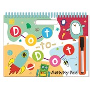 Wipe Clean Doodle Pad Dot To Dot (WCAP01)