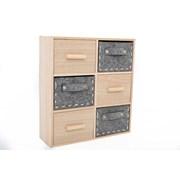 Sifcon Felt & Wood Drawer Cabinet 30x33 (WF2195)