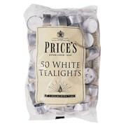 Prices White Tealights 50s (TE041628)