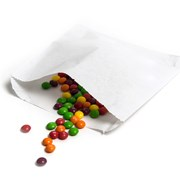 "White Sulphite Paper Bags Strung 5x5"" 1000s (55S)"