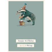 Wild Thing B/day Card (GH1065)