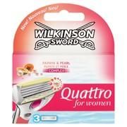 Wilkinson Sword Quattro Women Blades 3s (3865391)