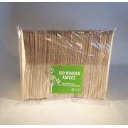 Wooden Disposable Knives 100s (WKNIFE)