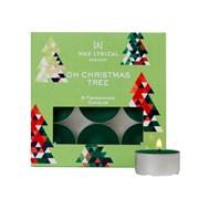 Wax Lyrical Tealights Box/9 Oh Christmas Tree (WLE3016)