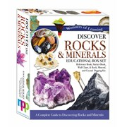 Omnibus Boxed Activity Set Rocks/minerals (WOLNBS20)