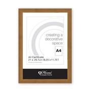 Wood Effect Frame Brown & Ash A4 (OTTE/1)