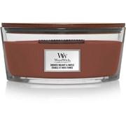 Woodwick Ellipse Candle Smoked Walnut & Maple (1694644E)