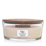 Woodwick Ellipse Candle Vanilla Bean (76112E)