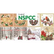 Square Charity Christmas Cards (X-23301-CC)