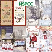 Slim Charity Christmas Cards (X-23307-C)