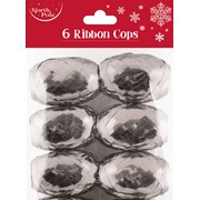 Ribbon Cops Silver 6s (X-25455-BC)