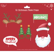 Christmas Photo Props 6pack (X-25926-PROP)