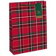 Tartan Gift Bag Large (X-27345-2C)