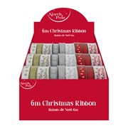 Merry Xmas Ribbon Asstd 2mt (X-27609-RC)