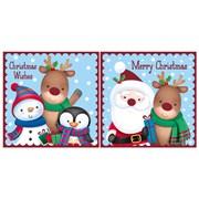 Santa Cute Acetate Cards (X-27726-BCC)