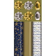 Navy/gold Luxury Roll Wrap Pack (X-27813-GWC)