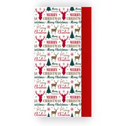 Stag Text Tissue Paper 8sheet (X-28017-TPC)