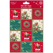 Trad Gift Tags 32pack (X-28116-GTC)
