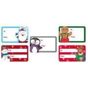 Cute Sticker Gift Tags 50s (X-28176-GTC)