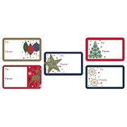 Contemporary Sticker Gift Tags 50s (X-28182-GTC)
