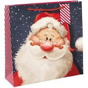 Cute Santa Square Gift Bag Jumbo (X-29283-23CC)