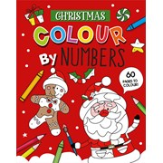 Xmas Colour By Numbers Book (X-29646-CBNCC)