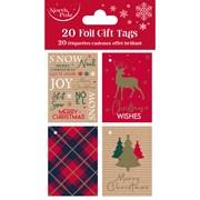 Tartan Gift Tags 20pack (X-29706-GTCC)