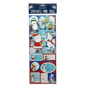 Gift Tags Labels Santa 30s (X-300-30S)