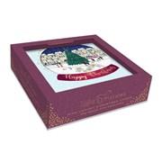 Christmas Acetate Box Cards Studio Collection (X0089RA)