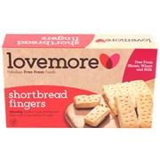 Lovemore Gluten Free Shortbread Fingers (X1107)